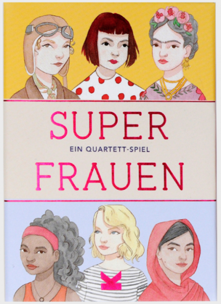 Super Frauen - Quartett